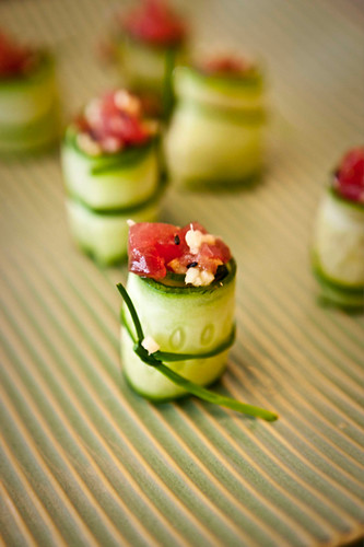 Beautiful hors d 39 oeuvres flickr photo sharing for Canape hors d oeuvres