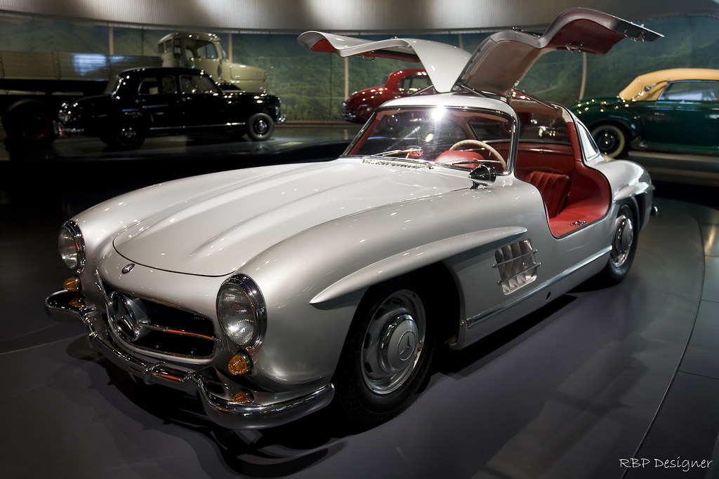 Mercedes-Benz 300 SL Coupe 1955 Gullwing