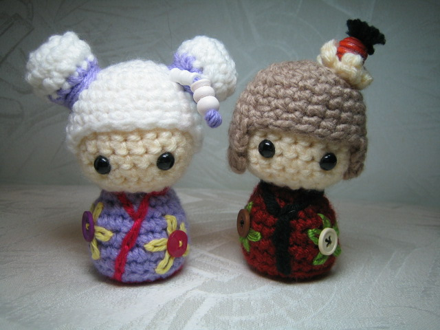 Japanese doll Kokeshi Amigurumi Flickr - Photo Sharing!