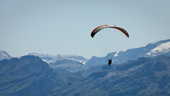 Parachuting In The Mountains