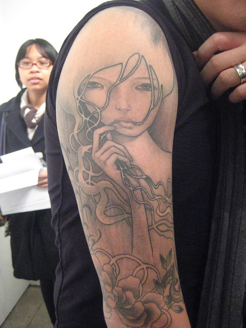Audrey Kawasaki Tattoo! | Flickr - Photo Sharing!