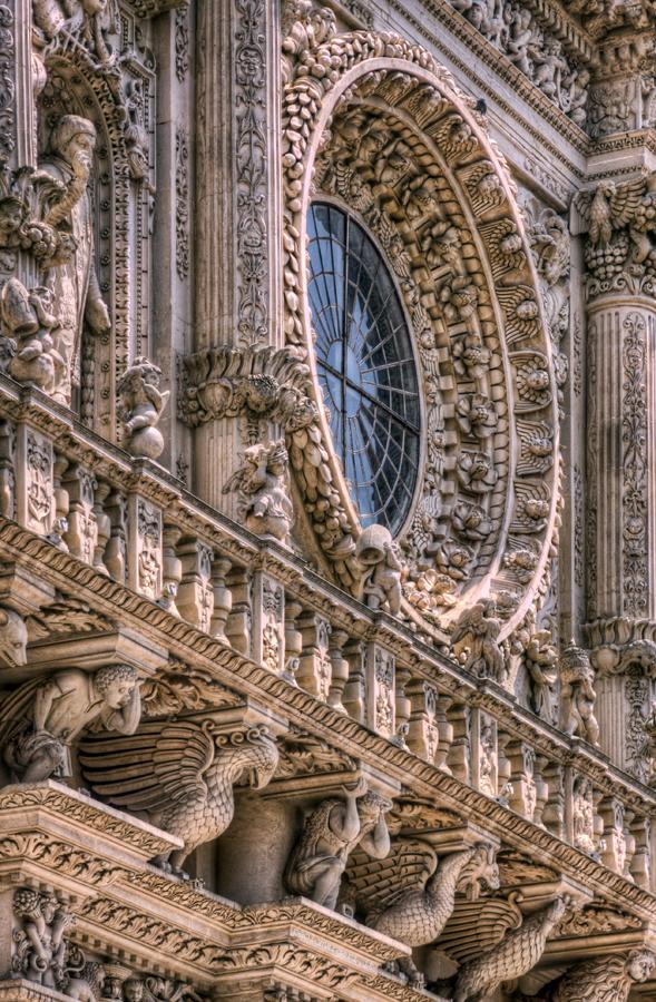 Rosone di Santa Croce - Lecce, Italy HDR
