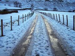 Great Langdale winter camp/van camp 09.