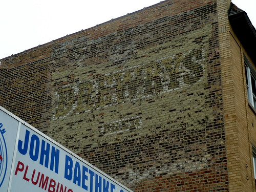 Drewrys Beer Ghost Sign - Cicero Avenue & Addison - Chicago