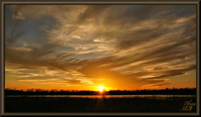 A bit later - Sunset
