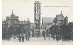 Paris, Eglise Saint-Germain-l'Auxerreois, 1906 - Church of Saint-Germain l'Auxerrois