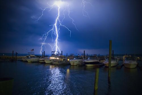 blue storm water weather night clouds river landscape virginia nikon richmond lightning storms d80 goldmedalwinner flickraward goldstaraward nikonflickraward cloudslightningstorms nikonflickrawardgold