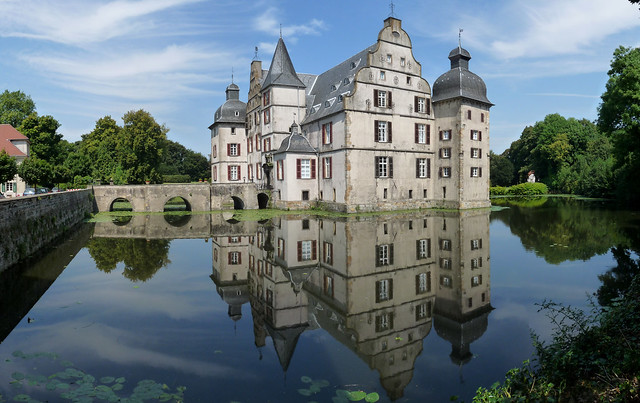 Wasserschloss Bodelschwingh  Panorama