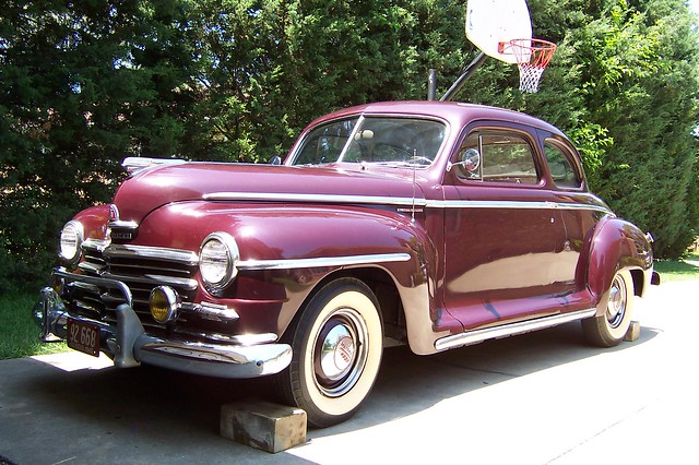 1946 plymouth super deluxe coupe flickr photo sharing for 1946 plymouth special deluxe 4 door