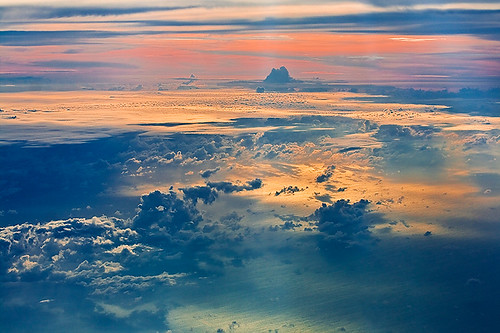 sunset sky nature colors clouds colours dusk aerial airline atmospheric highaltitude thursdaychallenge