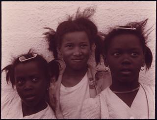 Three Girls in Galveston, Texas ... 04/1973