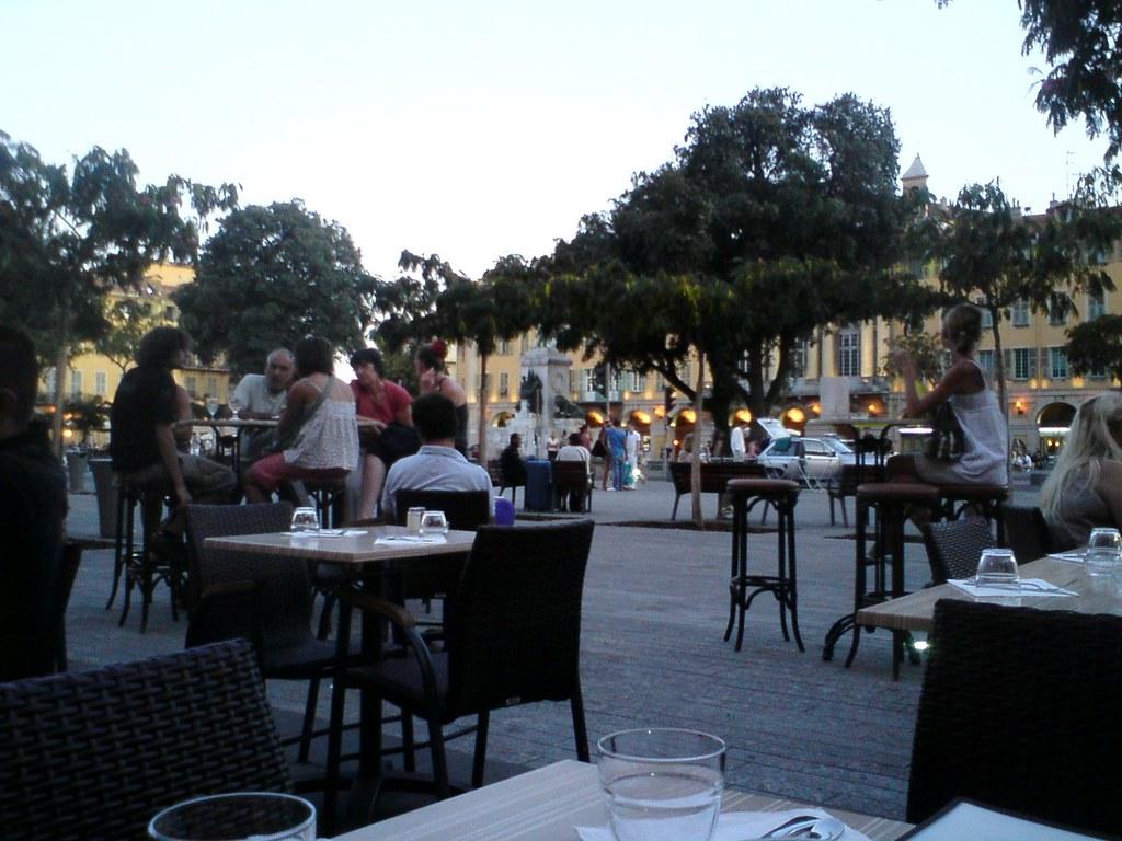 Nice, place Garibaldi