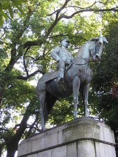 Kuva Iwao Oyama Statue. statue japan tokyo chiyoda