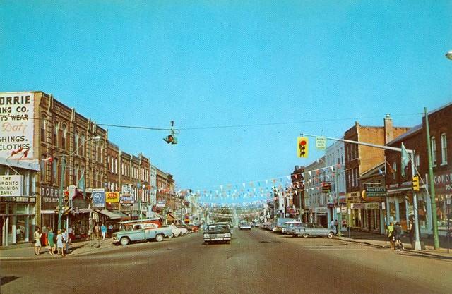 Downtown Orangeville, Ontario