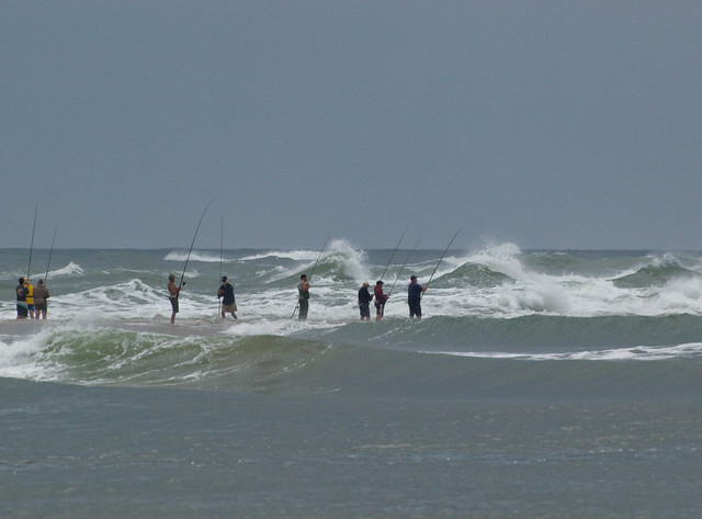 Surf fishing cape point hatteras flickr photo sharing for Nc surf fishing report