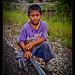Little boy with big machete, Belize