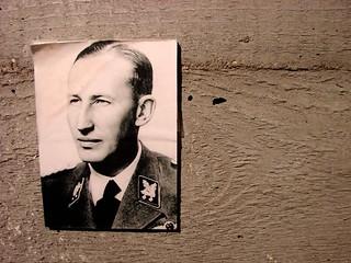 Lidice Memorial - Image of Reinhard Heydrich, Nazi Mass Murderer - Near Prague, Czech Republic