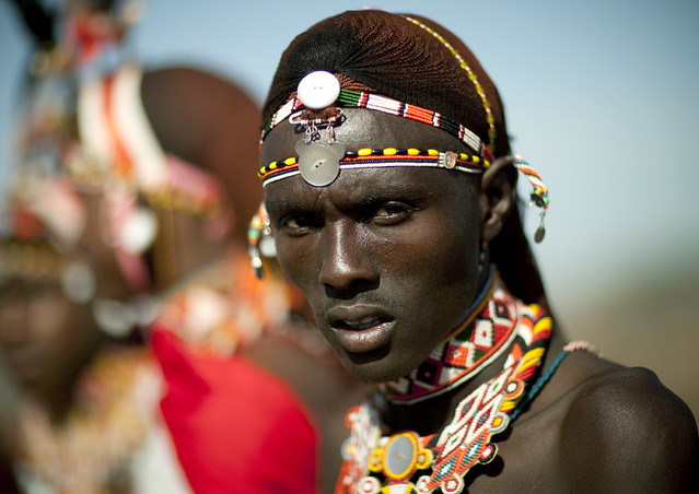 Samburu warrior - Kenya