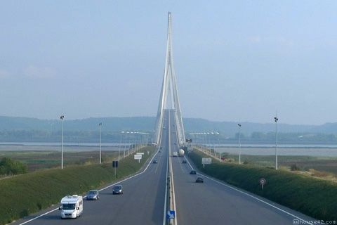 Normandy bridge le havre honfleur flickr photo for 3d architecture le havre