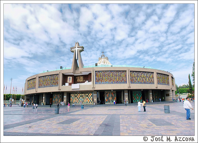 México. Nueva Basílica de Santa María de Guadalupe.