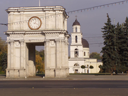 Triumphal Arch - Chisinau, Moldova. Photo by whl.travel on Flickr.