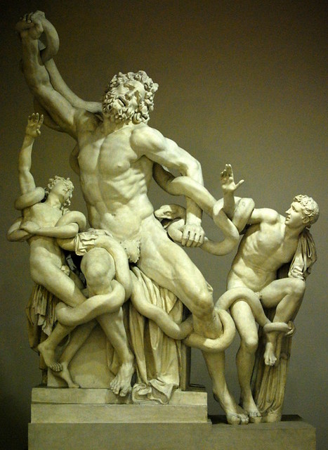 laocoon and his sons essay Death of laocoon essay angry with him and in lieu of which she had sent the two giant sea serpents to strangle and kill him and his two sons after his death the.