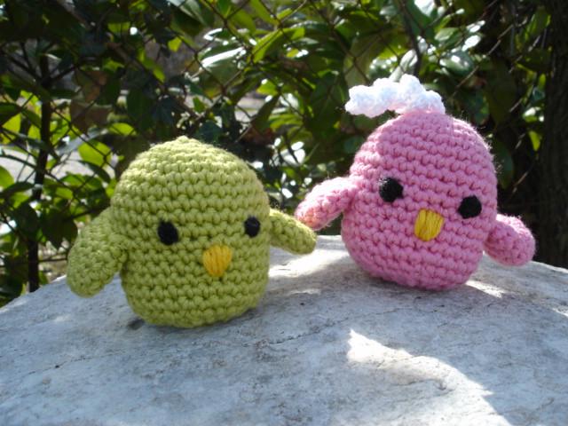 amigurumi  birds