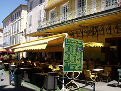 The famous cafe in Arles that Van Gogh painted