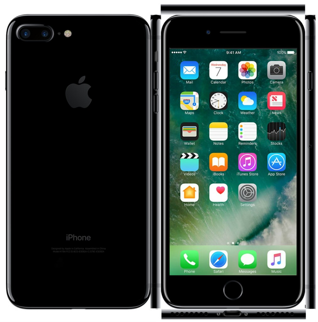 Iphone  Black And Jet Black