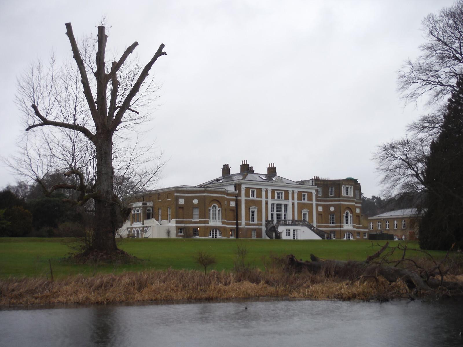Waverley Abbey House SWC Walk 144 Haslemere to Farnham - Waverley Abbey Extension