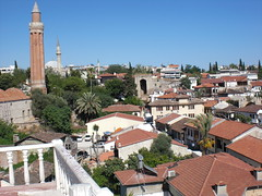 Über den Dächern von Antalya