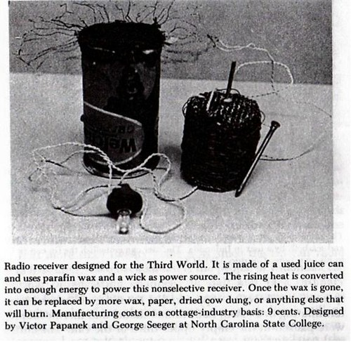 radio receiver for the third world by victor papanek and george seeger (1962-67)