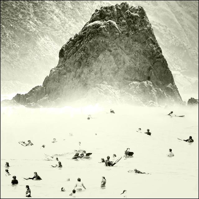 Widemouth Surfers