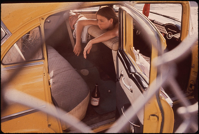 Teenager in Second Ward Neighborhood, 06/1972