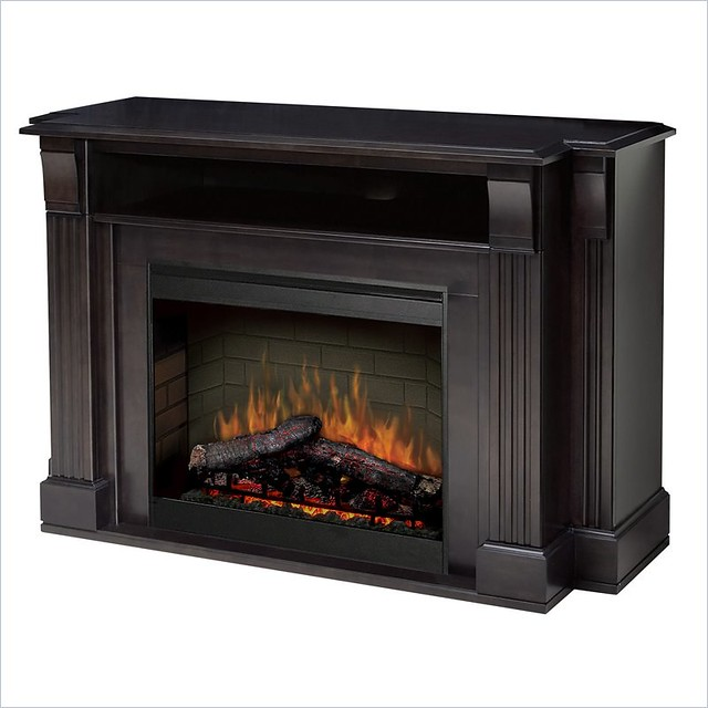 tv stand with electric fireplace flickr photo