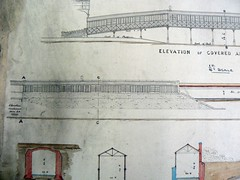 Preston Station footbridge plans to Park Hotel (image 2 of 4) by Preston Digital Archive