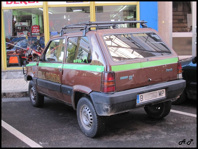 1991 fiat panda 4x4 l val d 39 is re r plica so cool with t flickr photo sharing. Black Bedroom Furniture Sets. Home Design Ideas