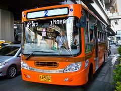 New Orange Minibus on the #2 Line