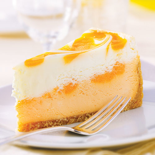 Orange Cream Cheesecake | Flickr - Photo Sharing!