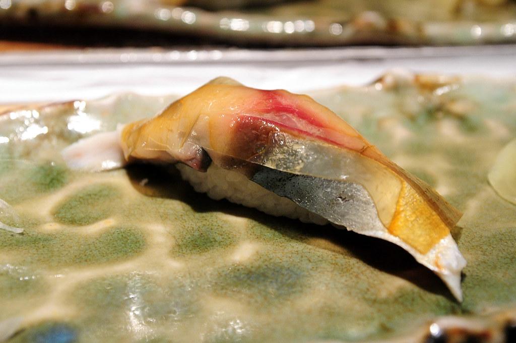 筌壽司-青花魚握壽司