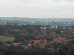 Oldham from Heaton Park