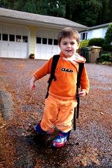 """""""i can walk through puddles in these rain boots""""    …"""