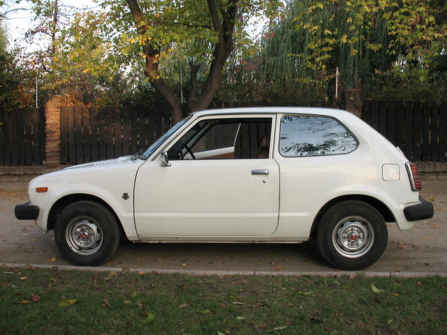 1978 honda civic coupe 1300 flickr photo sharing for 1978 honda civic