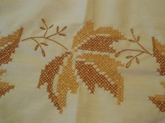 art, pattern, textile, needlework, leaf, embroidery,
