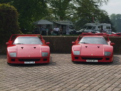 Ferrari F40 at Blenheim