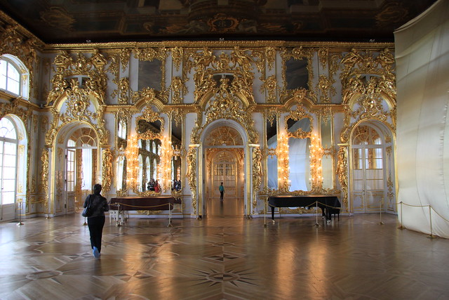 Ballroom of Catherine Palace | Flickr - Photo Sharing!