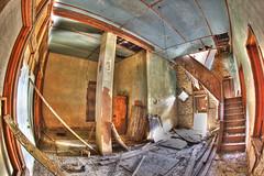 Abandoned Hico Feed Silo Interior
