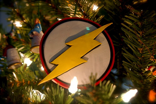 2002 Handmade Flash Logo Ornament