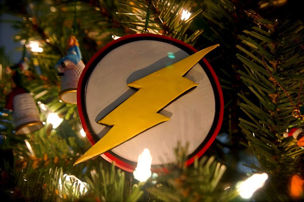 2002 Handmade Flash Logo Ornament