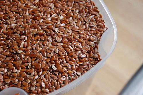 neverhomemaker flax seeds and flax meal. Black Bedroom Furniture Sets. Home Design Ideas